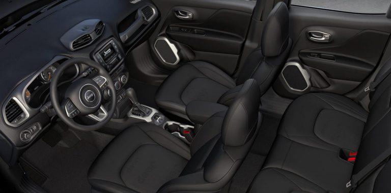 Jeep Renegade | Interieur compacte SUV auto